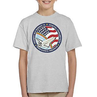 NASA STS 61B Space Shuttle Atlantis Mission Patch Kid's T-Shirt