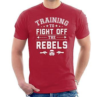 Original Stormtrooper Training To Fight Off Rebels Men's T-Shirt