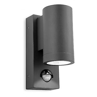 Firstlight Modern grafit LED czujnik ściana Downlight