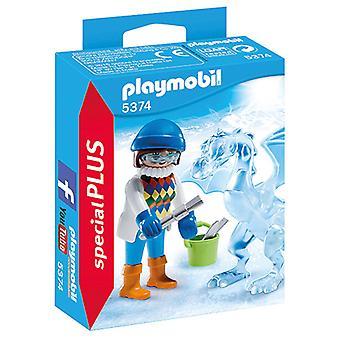 Playmobil 5374 Artieste met IJssculptuur