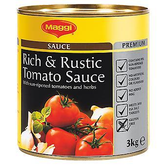 Maggi-rustikal Tomaten Sauce glutenfrei