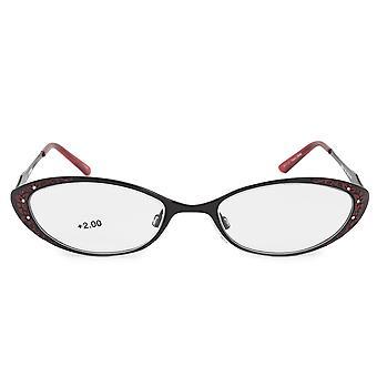Harley Davidson Oval Reading Eyeglasses HD3011 RD 52 +2.0