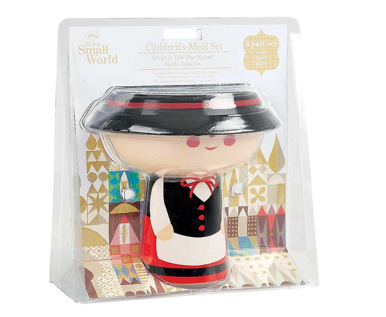 Swedish Girl Disney Stacking Meal Set - It's a Small World