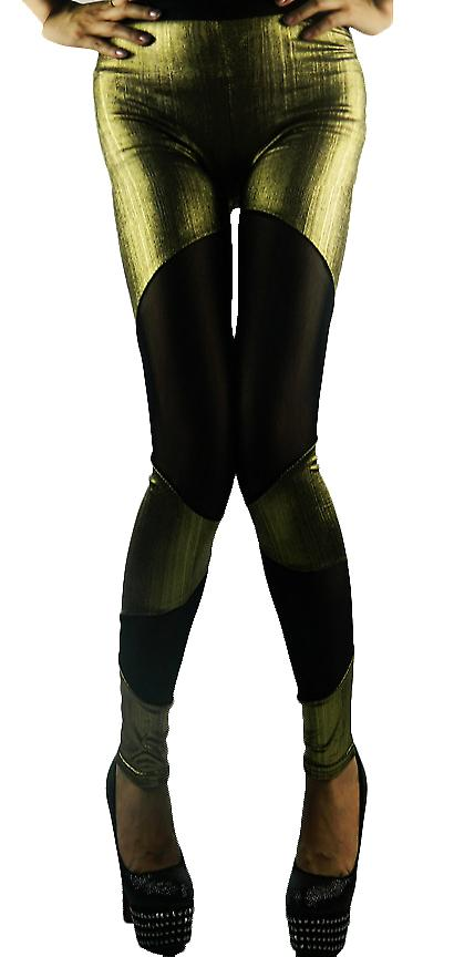Waooh - Fashion - leggings bi materiale skinn
