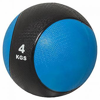 Medizinball 4kg blau/schwarz M