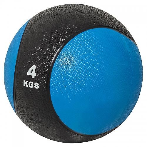 M�decine ball 4kg bleue/noir