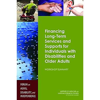 Financing Long-Term Services and Supports for Individuals with Disabi