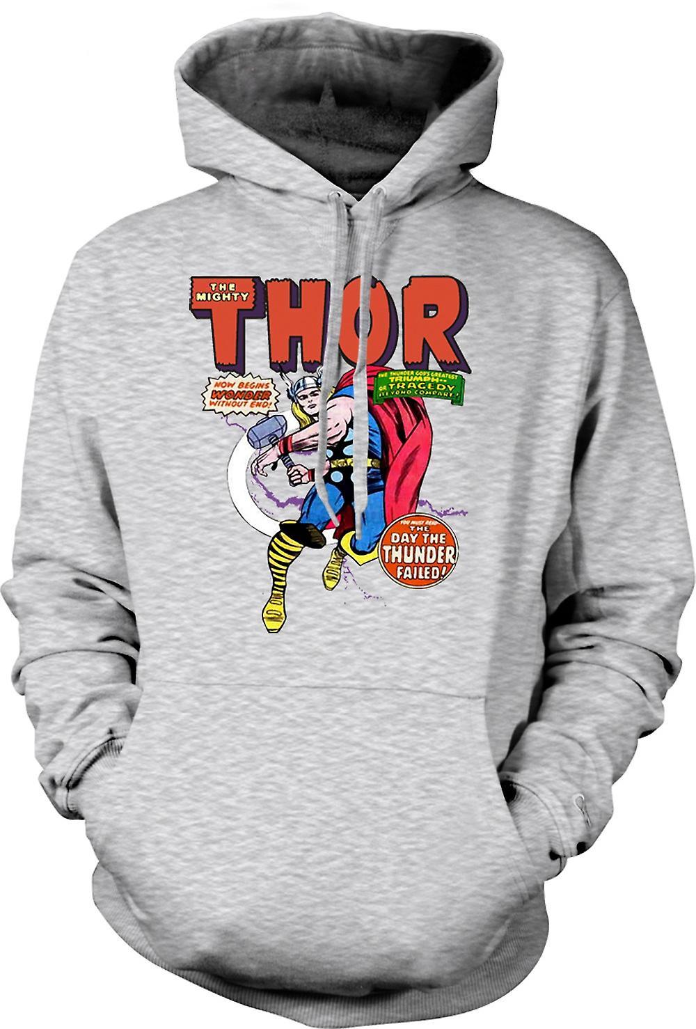 Para hombre con capucha - Capitán América - héroe de cómic