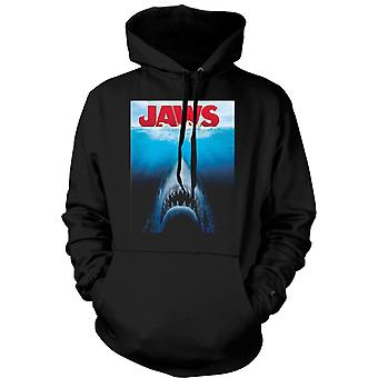Mens Hoodie - Jaws Great White Shark - Film