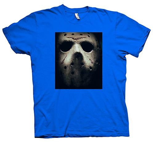 Mens T-shirt - vrijdag Th Hocky Masker Horror