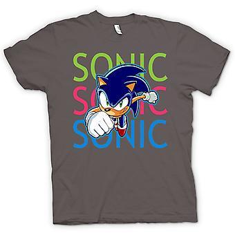 Mens T-shirt - Sonic The Hedgehog - Gamer