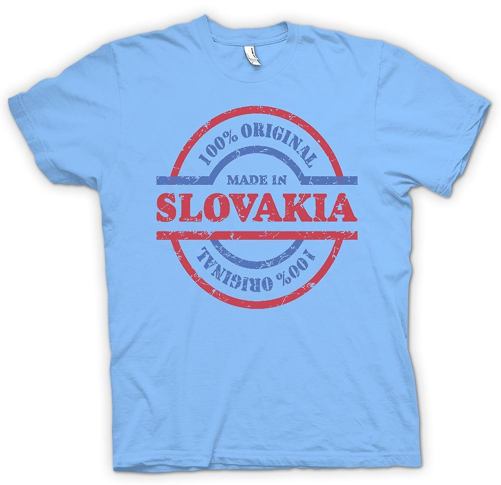Camiseta para hombre-100% Original hecha en Eslovaquia