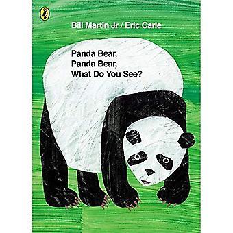Ours Panda, Panda Bear, que voulez-vous voir?