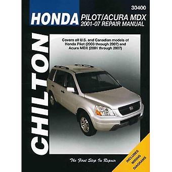 Honda Pilot/Acura MDX: 2001-07 reparationshandbok