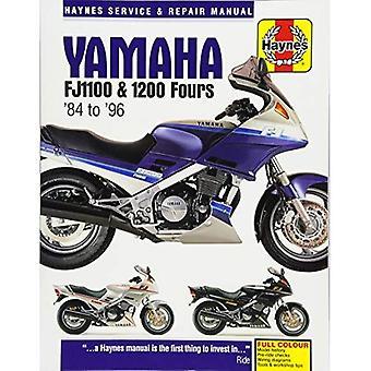Yamaha FJ1100 & 1200 Fours Motorcycle Repair Manual: 84-96 (Haynes Service & Repair Manual)