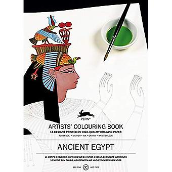 Ancient Egypt: Artists' Colouring Book