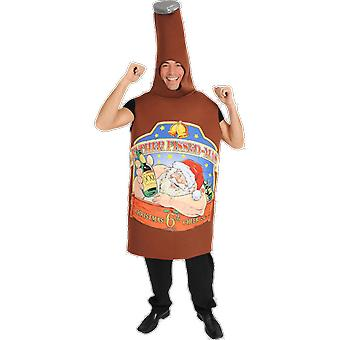 Orion Costumes Mens Giant Beer Bottle Rude Novelty Christmas Fancy Dress Costume