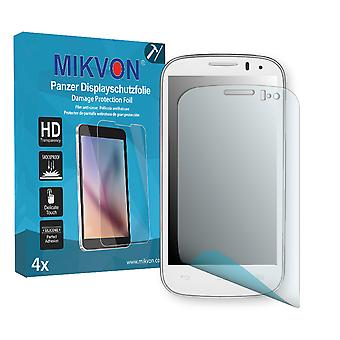 Alcatel One Touch Pop C5 Screen Protector - Mikvon Armor Screen Protector (Retail Package with accessories)