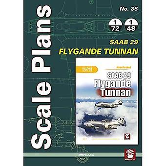 Scale Plans 36: SAAB 29 Flygande Tunnan