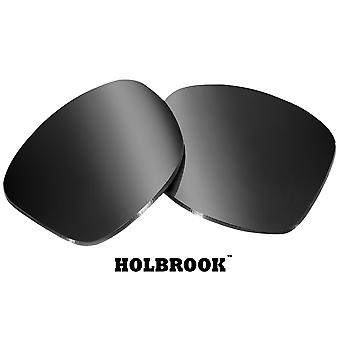 HOLBROOK Replacement Lenses Polarized Black Iridium by SEEK fits OAKLEY