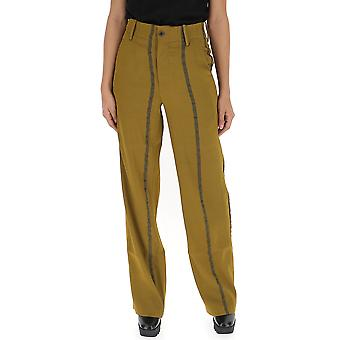 Uma Wang Brown Acetate Pants