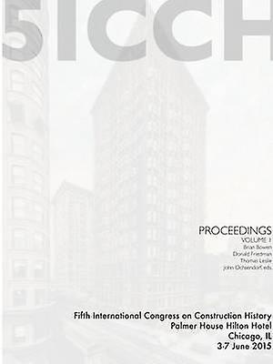 5ICCH Proceedings Volume 1 by Friedhomme & Donald