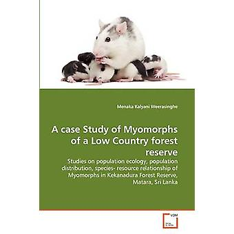 A case Study of Myomorphs of a Low Country forest reserve by Kalyani Weerasinghe & Menaka