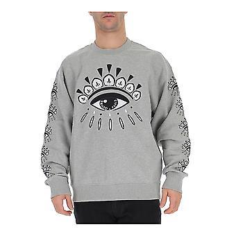 Kenzo Grey Cotton Sweatshirt
