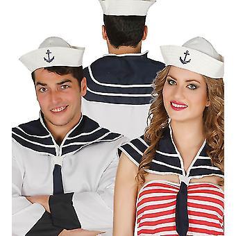Volwassenen Sailor Set: Hat & scoutingdas Fancy Dress accessoire