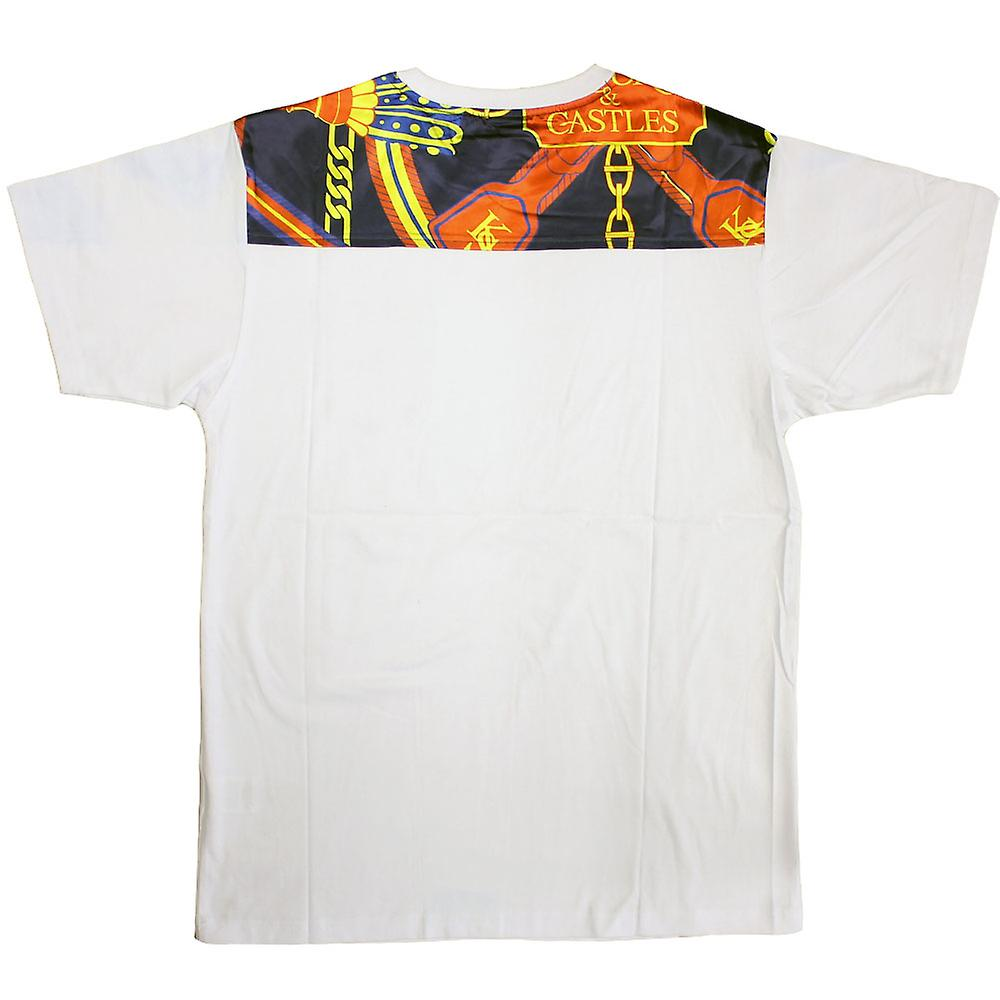Crooks & Castles Regalia T-Shirt White Navy Multi