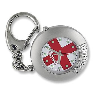England St George Rouns Keyring Clock ENGKEY004/A