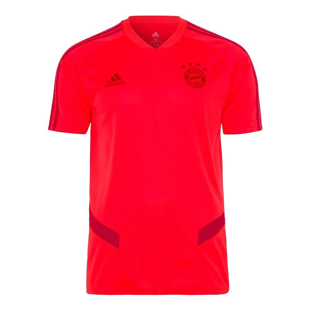 2019-2020 Bayern Munich Adidas Training Shirt (Red)