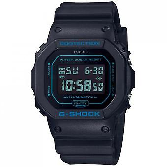 Casio DW-5600BBM-1ER Watch-G-Shock DW multifunctionele sinus armband blauw Bo tier R sine