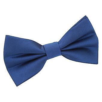 Navy Blue shantung pre-bundet bow tie