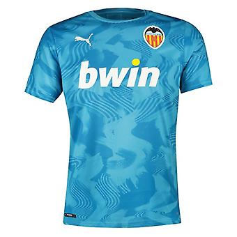 2019-2020 Valencia Puma Troisième Maillot de Football