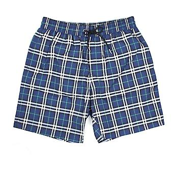 Burberry House Check Swim Shorts Canvas Blue