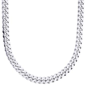 Sterling 925 Silver Tank Chain - MIAMI CUBAN 6mm