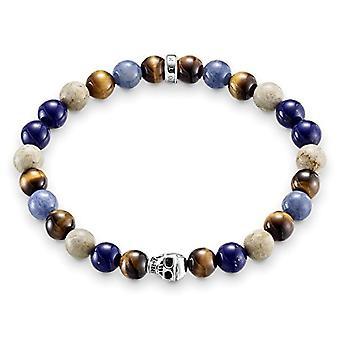 Thomas Sabo silver mäns elastiskt armband 925 A1532-926 -7-L 15,5