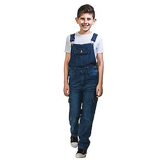 Benjamin kids darkwash denim dungarees (age 4 & 6 years)