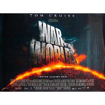 War Of The Worlds (Double Sided Regular) Original Cinema Poster