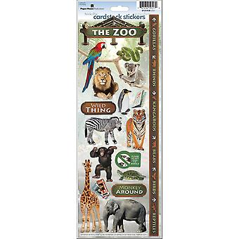 Zoo Cardstock Stickers Stcx0126