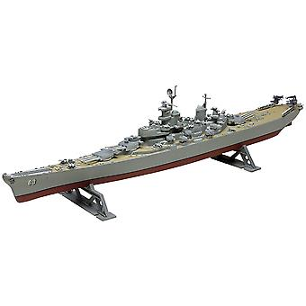 Plastic Model Kit Uss Missouri Battleship 1:535 85 0301