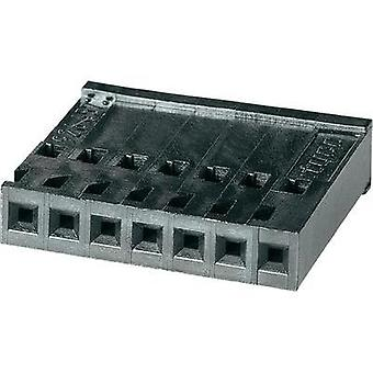 Socket enclosure - cable AMPMODU Total number of pins 7 TE Connectivity 926657-7 Contact spacing: 2.54 mm 1 pc(s)