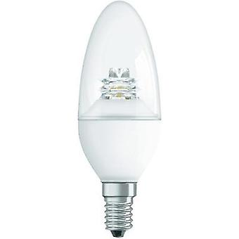 LED E14 Candle 3.8 W = 25 W Warm white (Ø x L) 38 mm x 110 mm EEC: A+ OSRAM dimmable 1 pc(s)