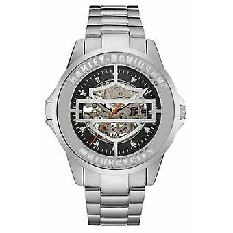 Harley Davidson Mens Automatic Stainless Steel 76A154 Watch