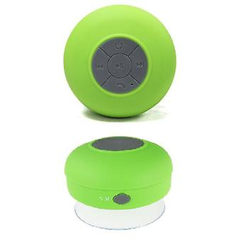 Waterproof Wireless Bluetooth Stereo + Speaker (Green)