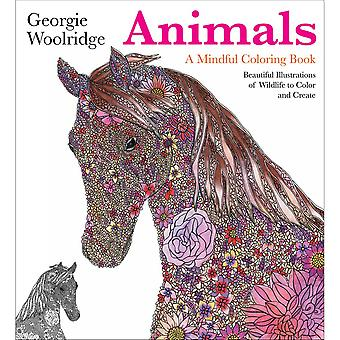 St. Martin's Books-Animals, A Mindful Coloring Book SM-09422