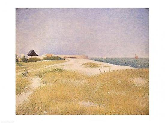 View of Fort Samson 1885 Poster Print by Georges Seurat