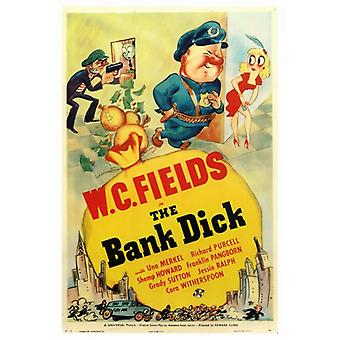 The Bank Dick Movie Poster Print (27 x 40)
