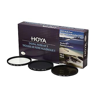 HOYA UV Filter Kit (C) Pol. Circ. NDx8 58 mm